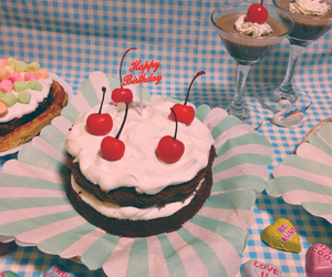 cake, party, and pastel image