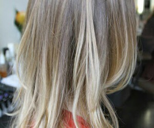 blonde, ombre, and girl image
