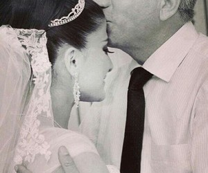 wedding, daughter, and mariage image