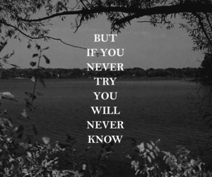 quotes, try, and text image