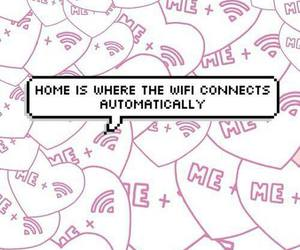 wifi, home, and funny image