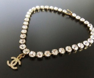 chanel, diamond, and necklace image