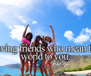 friends, world, and quote image