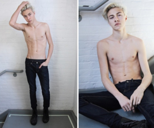 boy, handsome, and lucky blue smith image