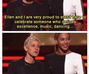 beyoncé, ellen, and funny image