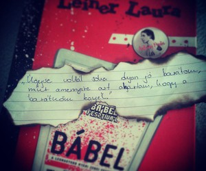 book, babel, and leiner laura image
