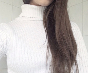 hair, pale, and white image