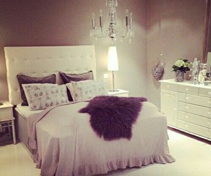 beauty, bed, and house image