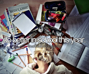 school, better, and goal image