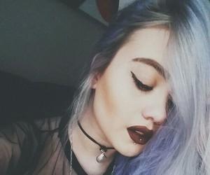 grunge, makeup, and hair image