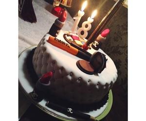 beautiful, cake, and chanel image