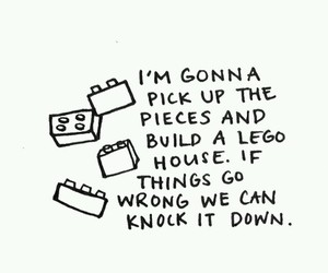 ed sheeran, lego house, and Lyrics image