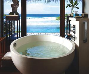 bath, beach, and luxury image