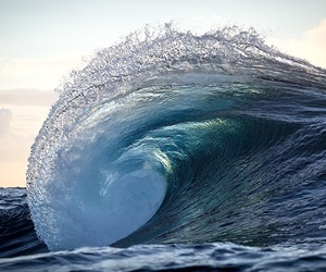 waves, ocean, and nature image