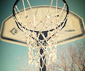 Basketball, frozen, and winter image