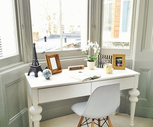 chic, decor, and office image