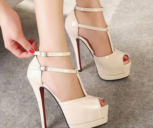 fashion, high heels, and heels image