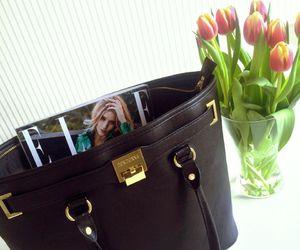 bag, black, and Elle image