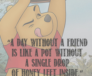 quote, winnie the pooh, and friends image