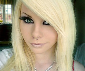 blonde, eww, and piercing image