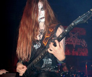 Black Metal, corpse paint, and girl image