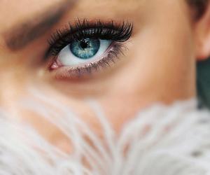 eyes, eye, and makeup image
