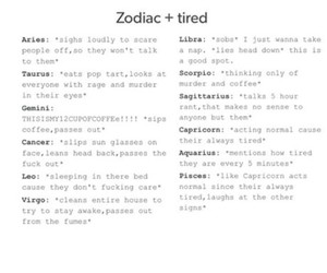 zodiac, funny, and horoscope image