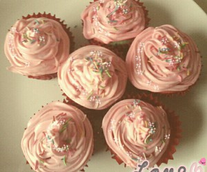 muffin, love, and pink image