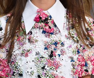 fashion, chanel, and flowers image