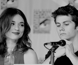 crystal reed and dylan o'brien image