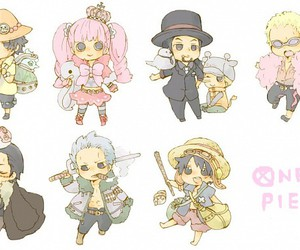 one piece and chibi image