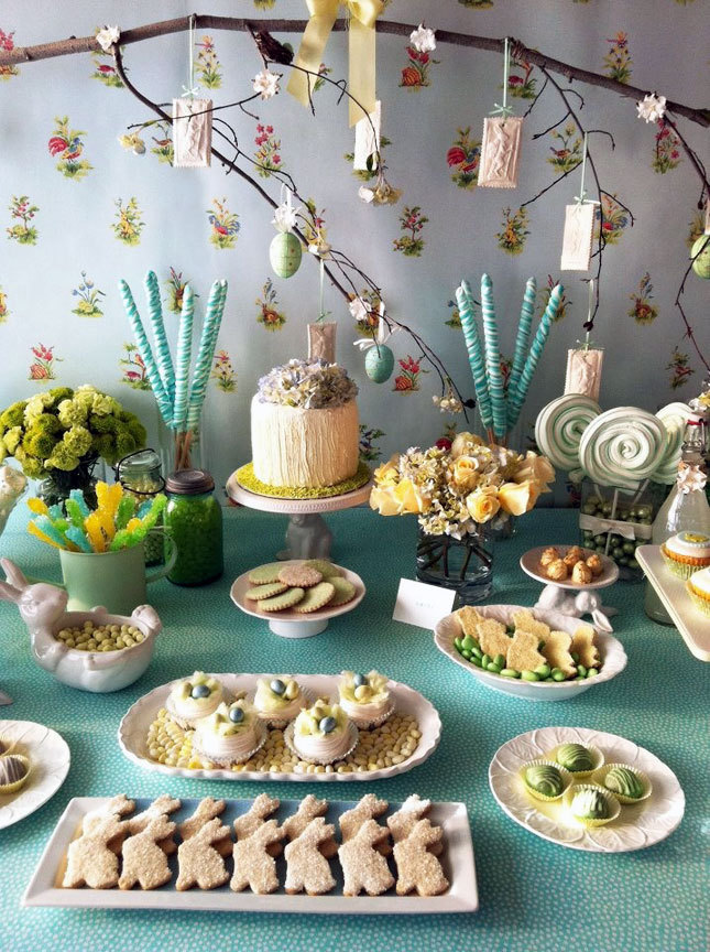 Charm Spring Table Decorations For Spring Table Decorating