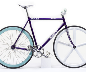 bicycle, fixed, and fixie image