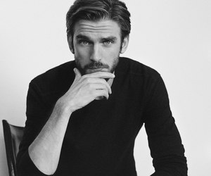 dan stevens, beauty and the beast, and black and white image