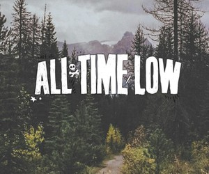 all time low, wallpaper, and music image