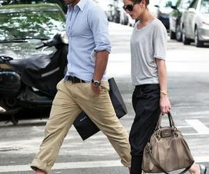 fashion, couple, and style image