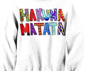 clothes and hakuna matata image