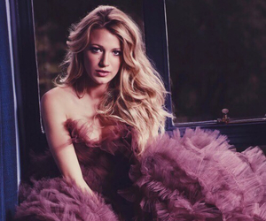 blake lively, dress, and purple image