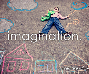 imagination and kids image