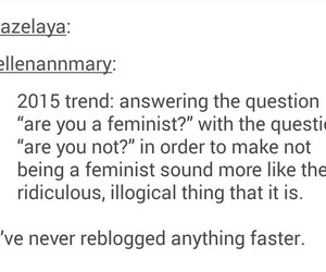 feminist and trend image