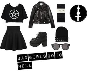 bad girl and grunge image
