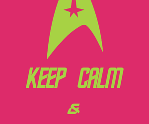 graphic design, keep calm, and poster image