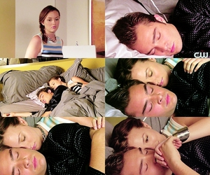 best couple, leighton and ed, and chuck and blair image