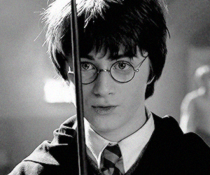 harry potter, wand, and daniel radcliffe image
