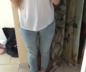 blonde, ootd, and fashion image