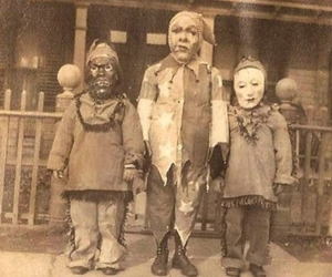 Halloween, costume, and creepy image