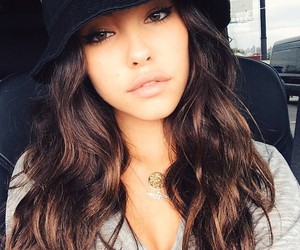 madison beer, hair, and hat image