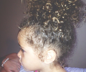 baby, hair, and curls image