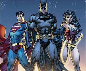 batman, superman, and justice league image