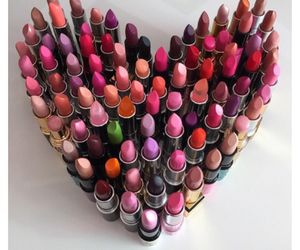 lipstick, mac, and makeup image